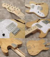 Fender MIJ Traditional 70s Telecaster Thinline Left-Hand (Natural)