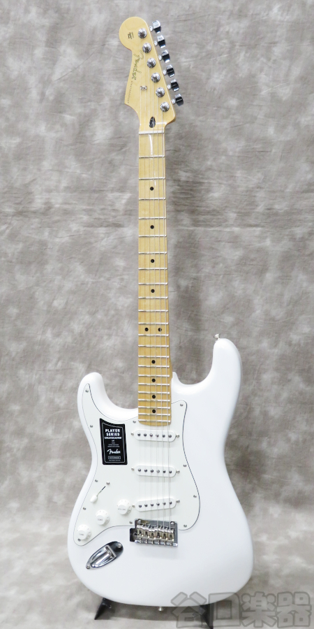 Fender Player Stratocaster Left-Handed (Polar White)