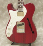Freedom Custom Guitar Research Black Pepper/Lefty (Red)