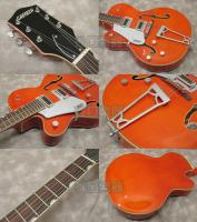 Gretsch G5420LH Electromatic Hollow Body Single-Cut (Orange Stain) -Electromatic Collection-