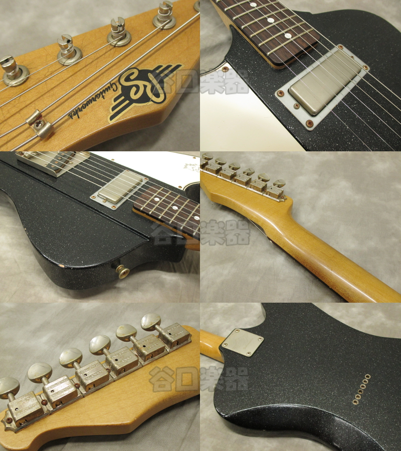 RS Guitarworks Tee Byrd 60's/Lefty (Black Sparkle) ※SOLD OUT