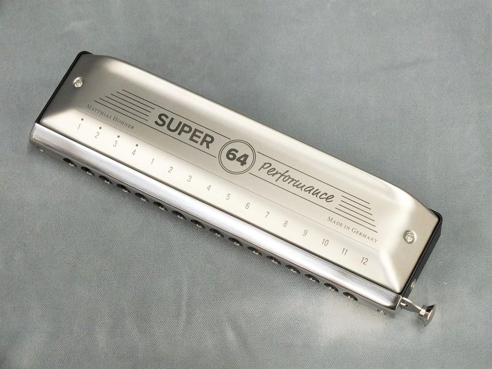 HOHNER New Super 64 クロマチックハーモニカ