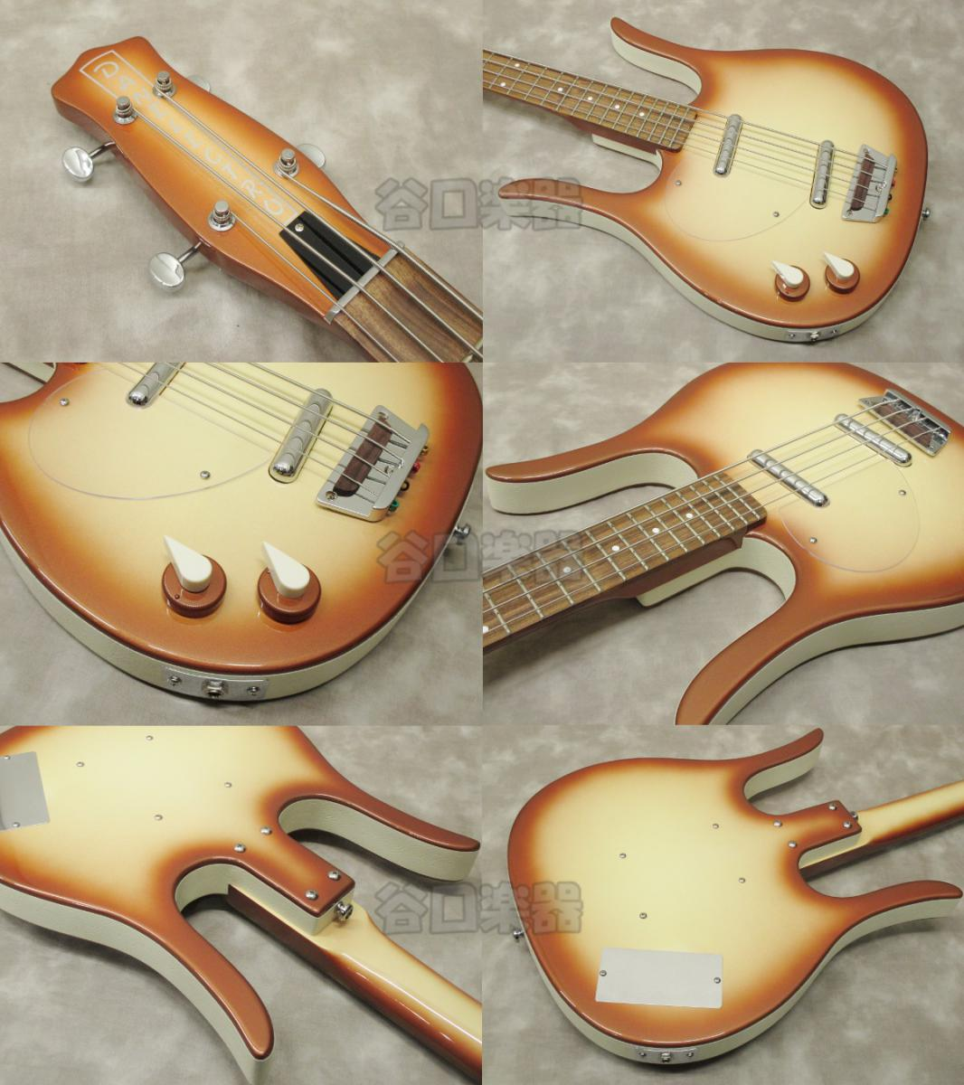 Danelectro Longhorn Bass/LH (Copper Burst)