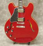 Gibson ES-335 Traditional 2018 Lefh Hand (Antique Faded Cherry) ※商談中