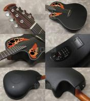 Ovation Celebrity Elite CE44L (Black)/Left Hand