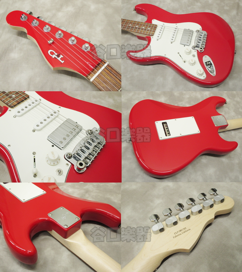 G&L USA Legacy HSS-Lefty (Rally Red)
