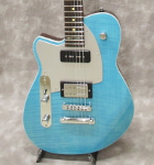 Reverend Double Agent OG 20th Anniversary Lefty (Sky Blue Flame Maple)