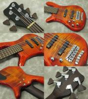 Warwick/CustomShop Streamer LX5-Left Hand ( Bleached Amber Burst) ※SOLD OUT